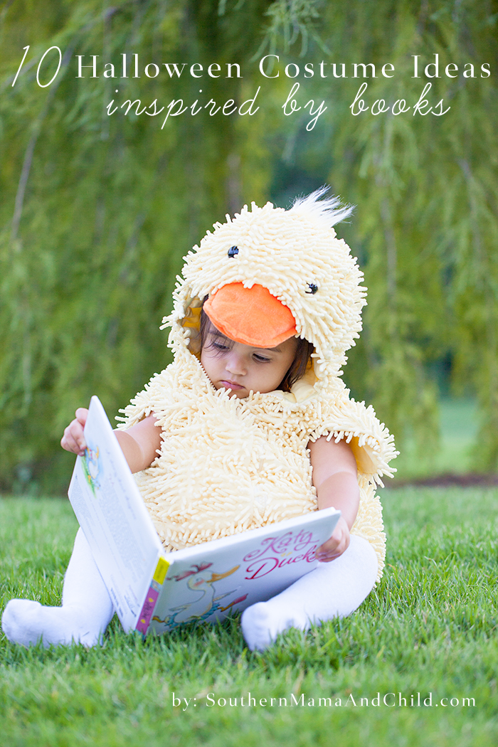 10 Costume Ideas for Kids Inspired by Books