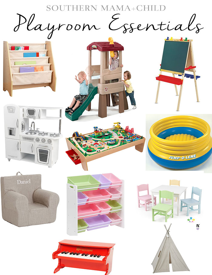 Playroom essentials southern mama guide for Living room essentials
