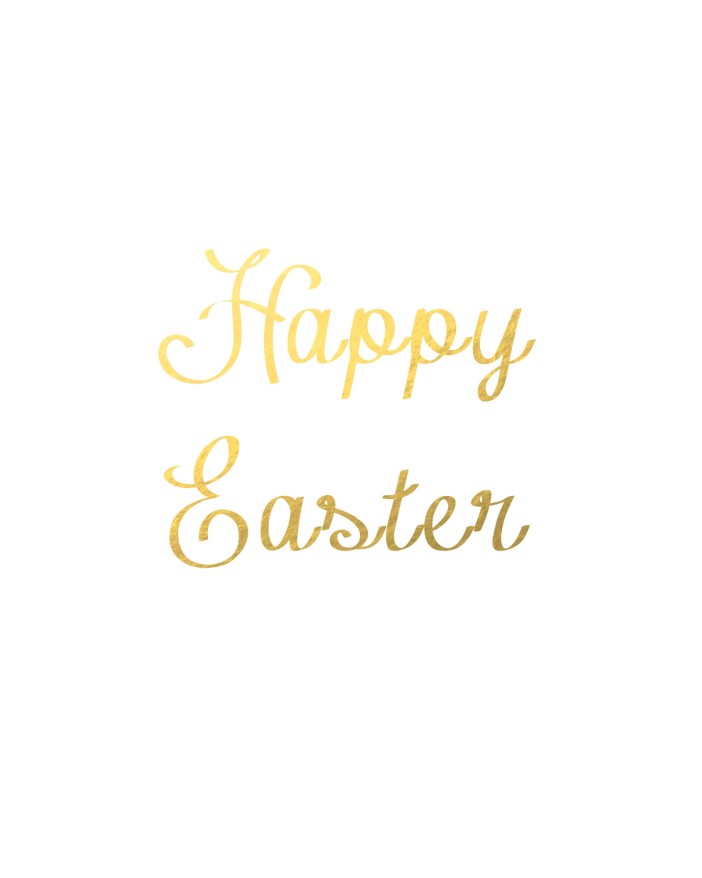 Free Happy Easter Printable