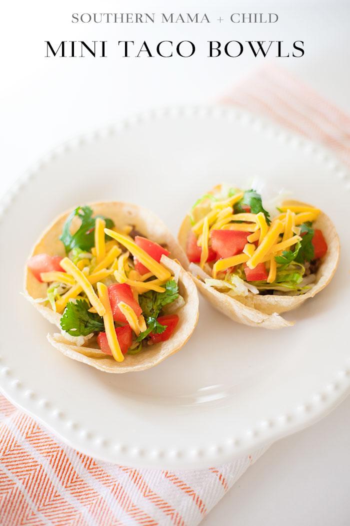 Mini Taco Bowls
