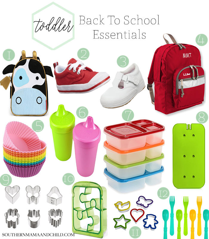 Toddler Back to School Essentials