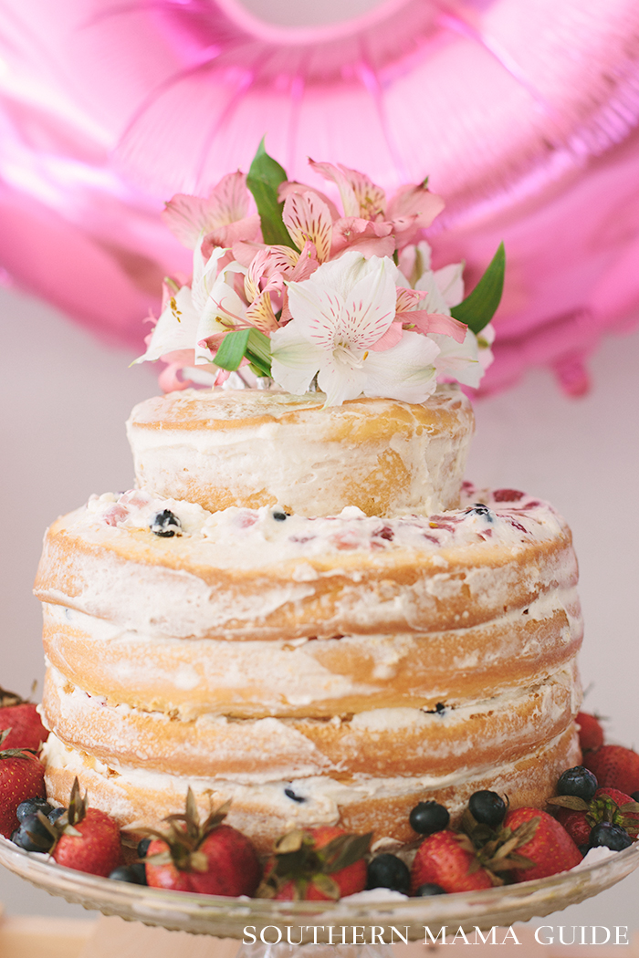 Layered Berry Chantilly Copycat Cake Recipe
