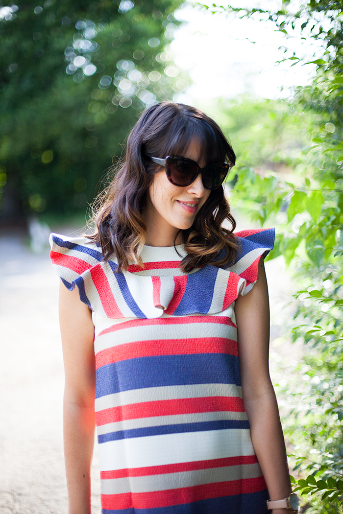 Mama Style: Fourth of July Style In Bold Stripes