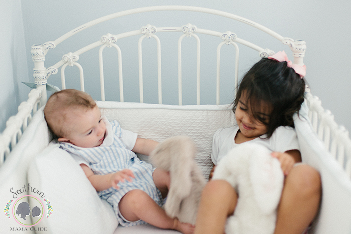 Toddler and Baby Shared Nursery Update