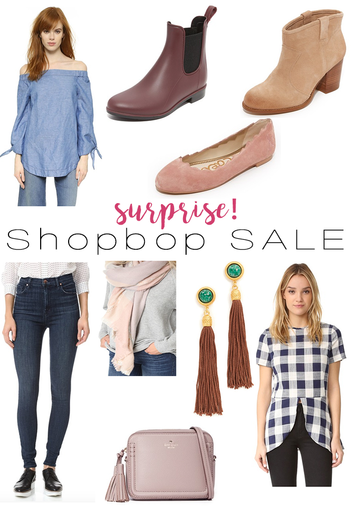 Surprise, Shopbop Sale!