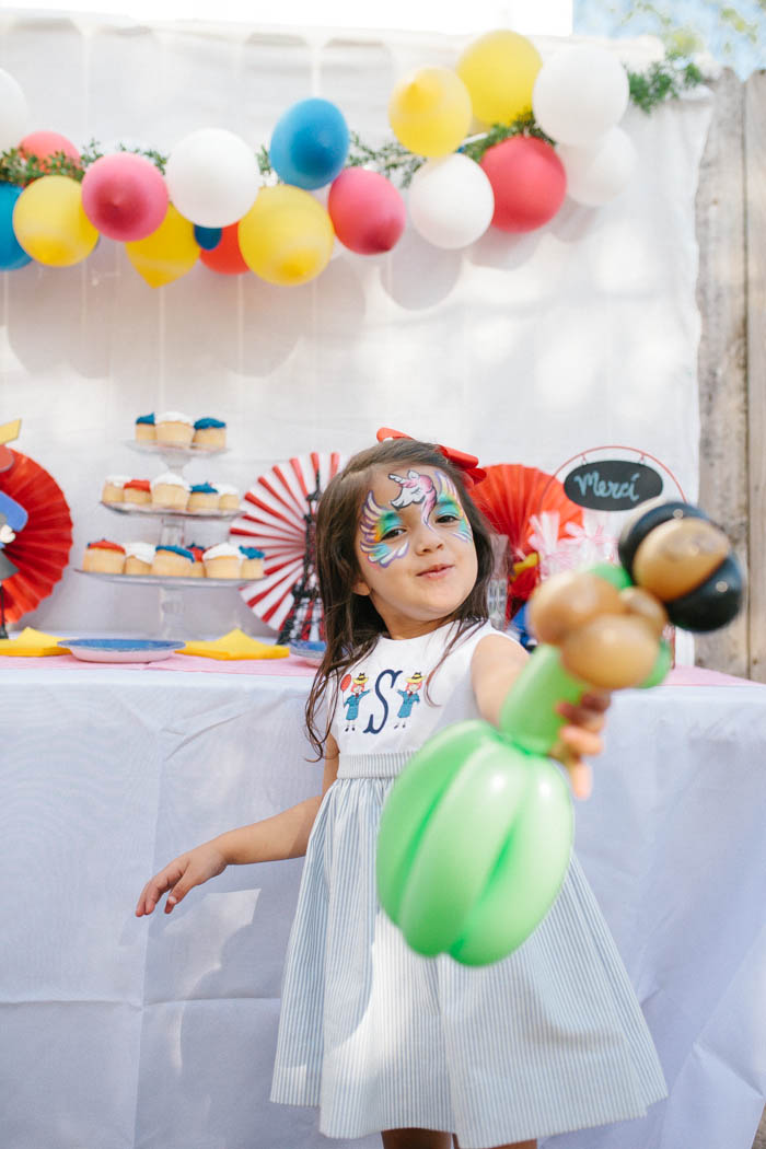 Scarlett's Madeline Themed Fourth Birthday Party