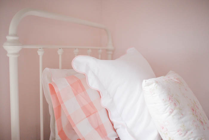 Sneak Peek | Scarlett's Floral and Pink Buffalo Check Big Girl Room