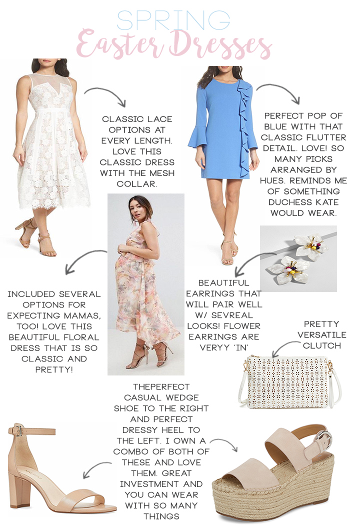 Spring Dresses for Easter