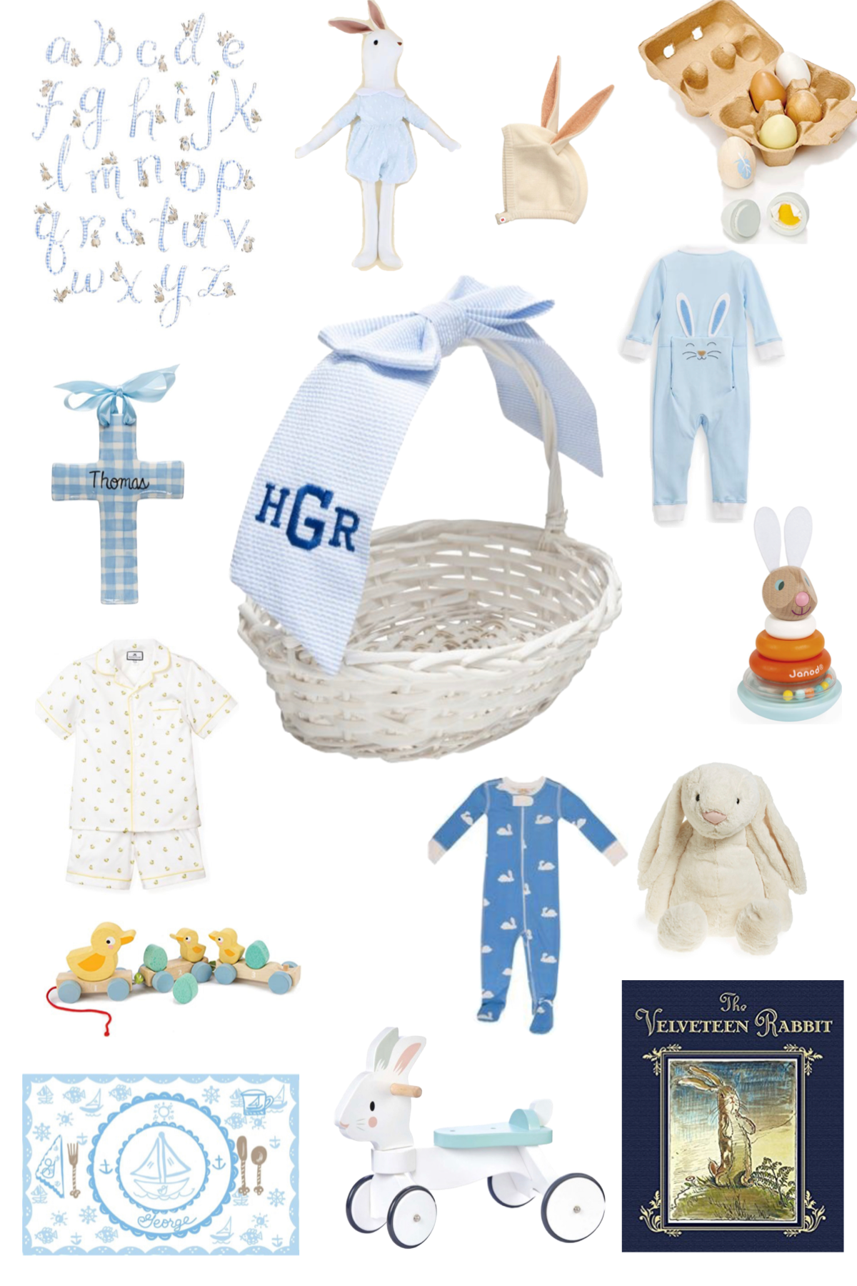 Easter Basket Filler Ideas for Babies