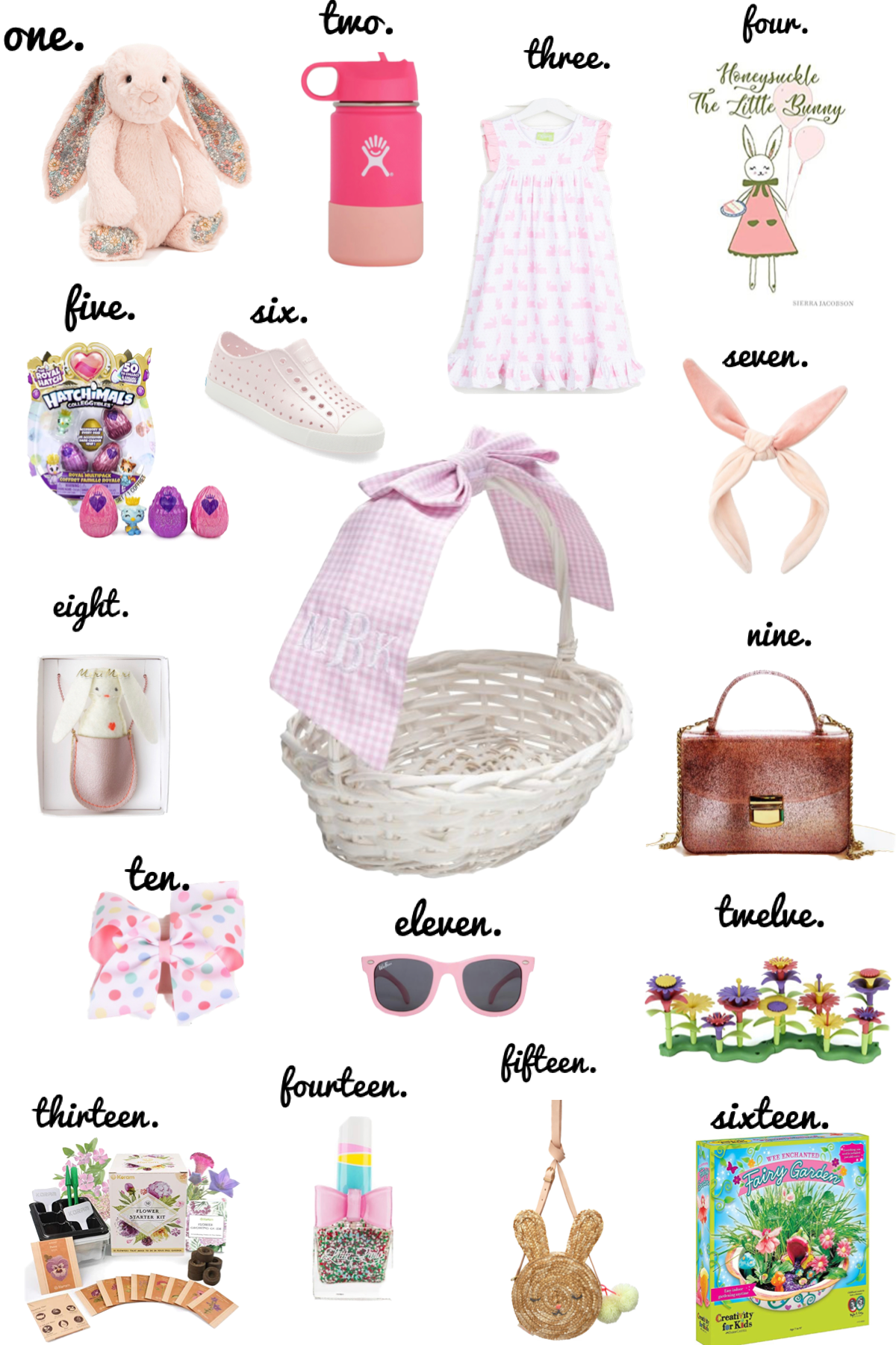 Easter Basket Filler Ideas for Girls